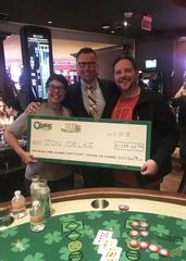 Wisconsin man wins $1.3 million at O'Sheas