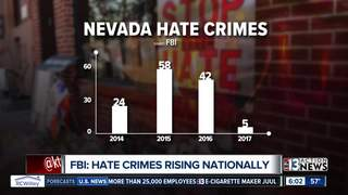 Nevada hate crime numbers buck national trend