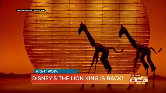 Disney's The Lion King Is Back In Las Vegas!