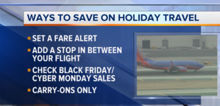 Cost saving tips for Thanksgiving travel
