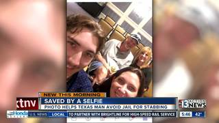 Vacation selfie saves man from prison sentence