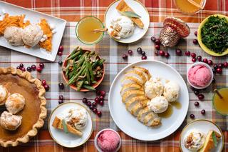 Thanksgiving-flavored ice cream line